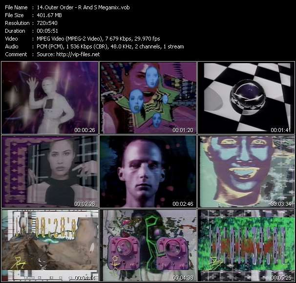 Outer Order HQ Videoclip «R And S Megamix»