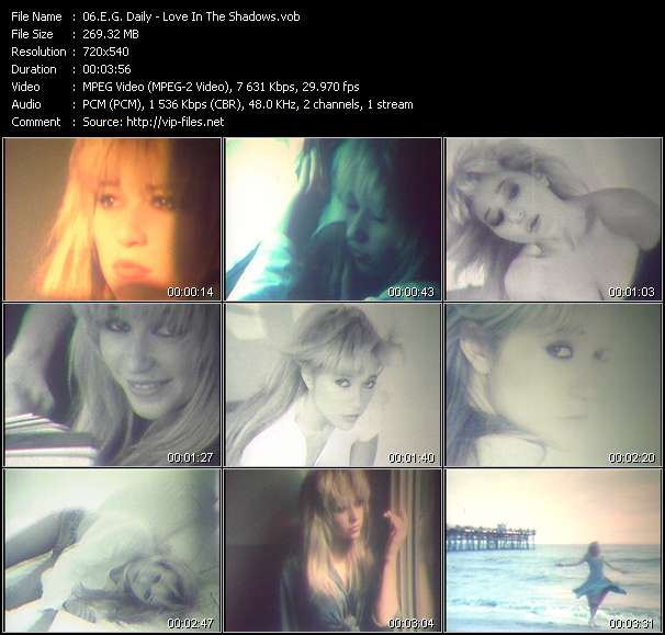 E.G. Daily video - Love In The Shadows