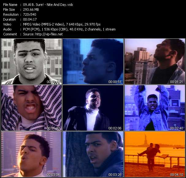 Al B. Sure! music video Filejoker