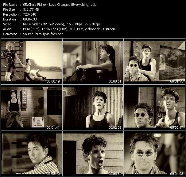Climie Fisher HQ Videoclip «Love Changes (Everything)»