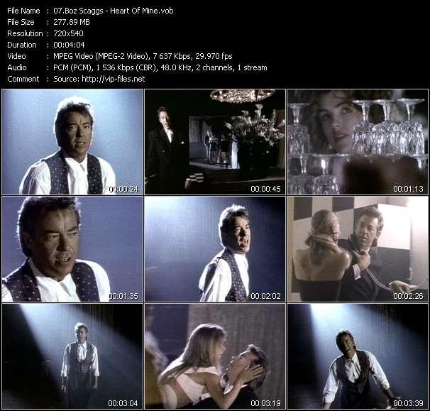 Boz Scaggs HQ Videoclip «Heart Of Mine»