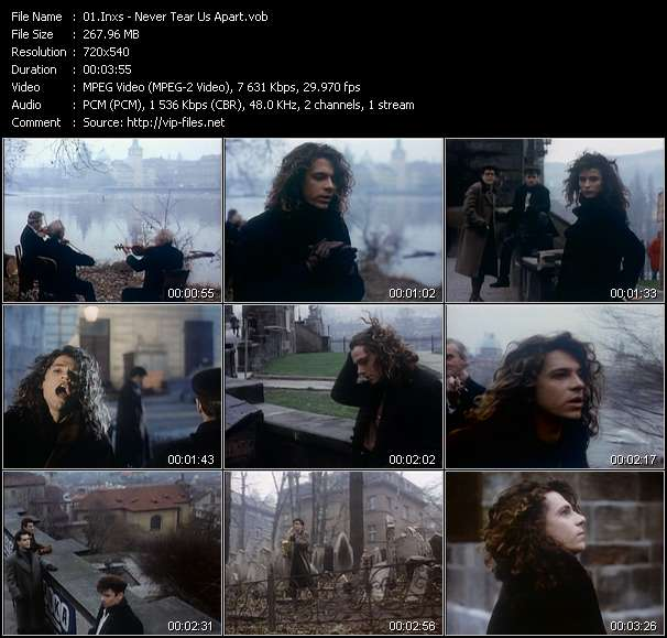 Inxs HQ Videoclip «Never Tear Us Apart»