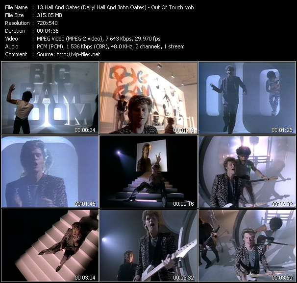 Hall And Oates (Daryl Hall And John Oates) video - Out Of Touch