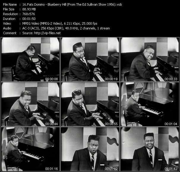 Fats Domino HQ Videoclip «Blueberry Hill (From The Ed Sullivan Show 1956)»