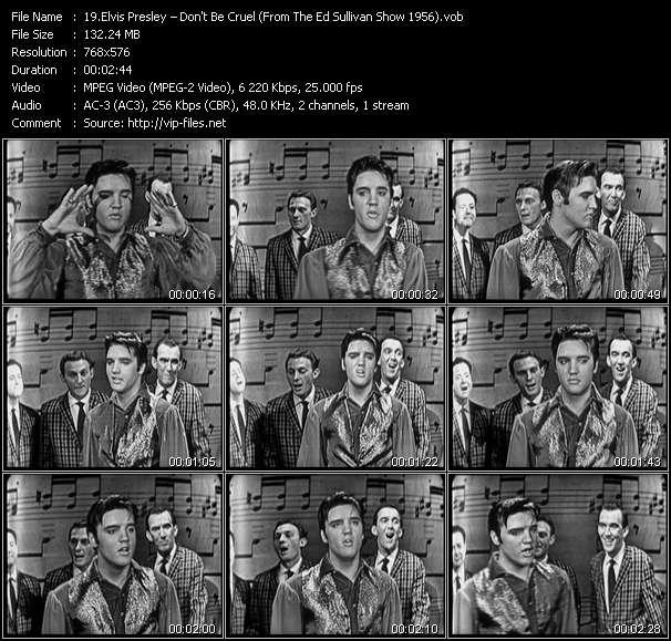 Elvis Presley HQ Videoclip «Don't Be Cruel (From The Ed Sullivan Show 1956)»
