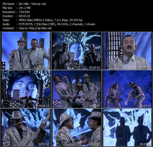 Yello music video Publish2