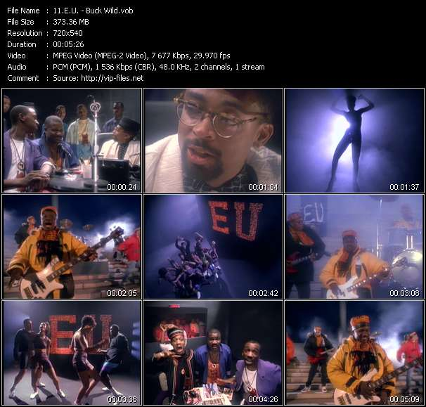 E.U. HQ Videoclip «Buck Wild»