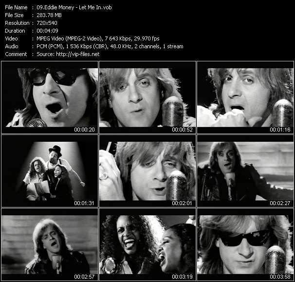 Eddie Money HQ Videoclip «Let Me In»