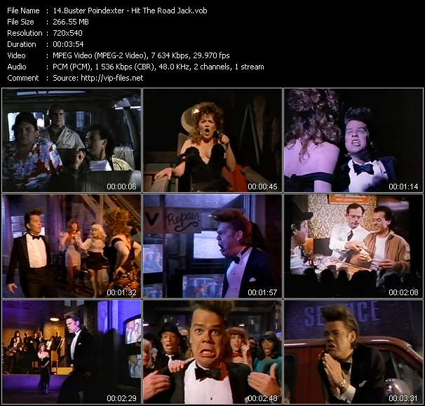 Buster Poindexter HQ Videoclip «Hit The Road Jack»