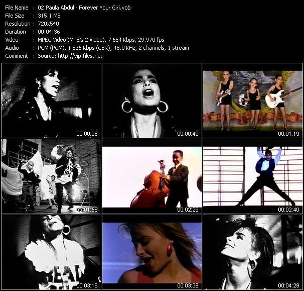 Paula Abdul video - Forever Your Girl