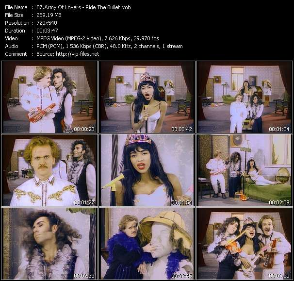Army Of Lovers music video Filejoker