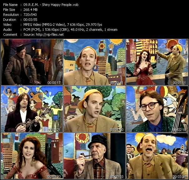 R.E.M. video - Shiny Happy People