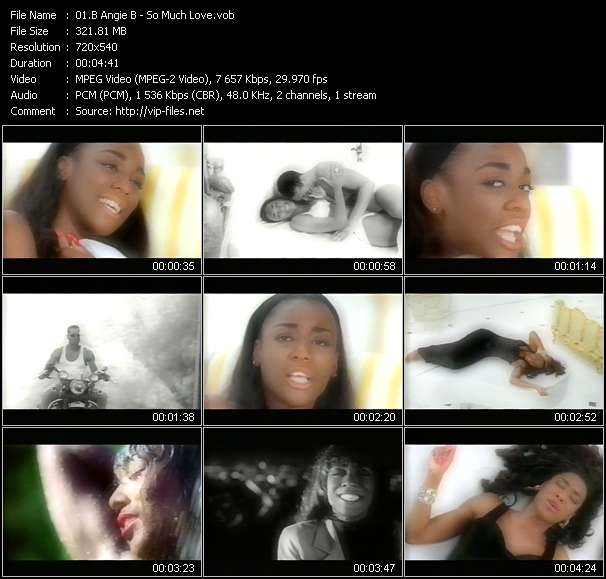 B Angie B video - So Much Love