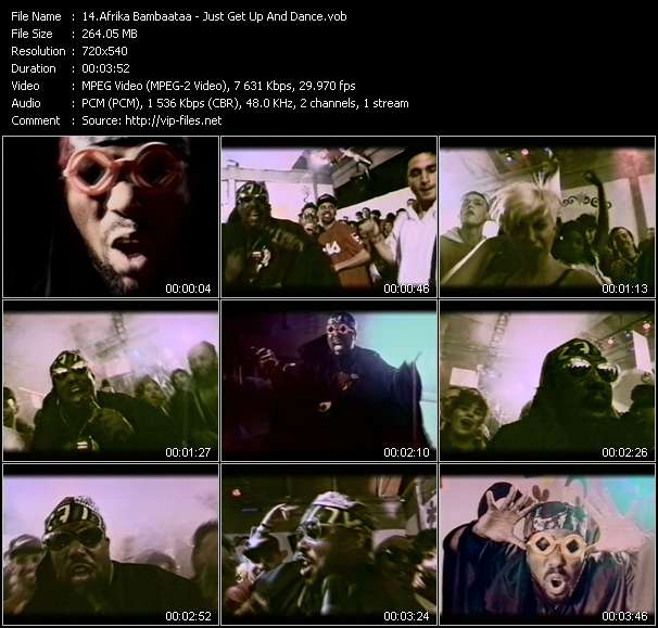 Afrika Bambaataa music video Filejoker