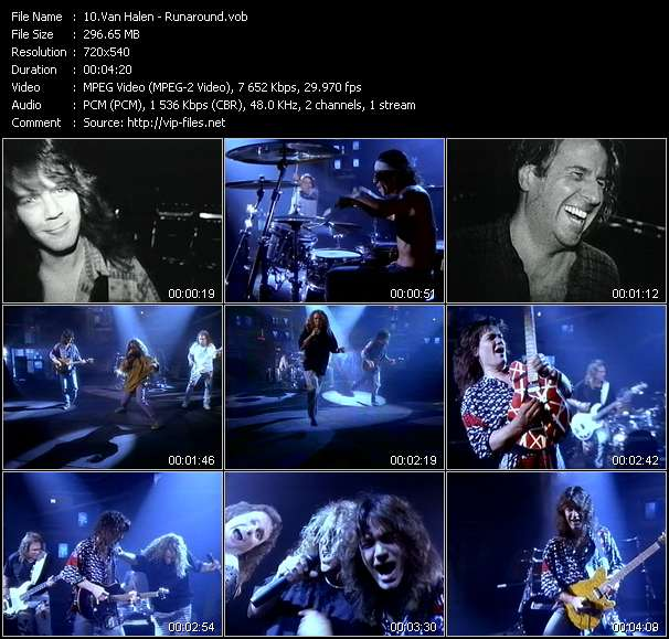 Van Halen video - Runaround