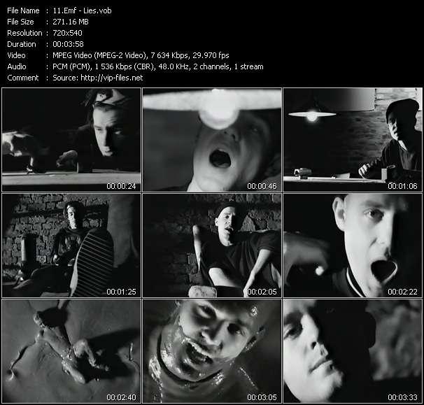 Emf HQ Videoclip «Lies»