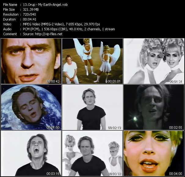 Orup HQ Videoclip «My Earth-Angel»