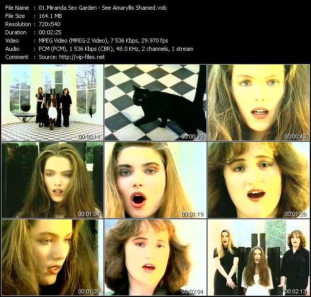 Miranda Sex Garden HQ Videoclip «Gush Forth My Tears»