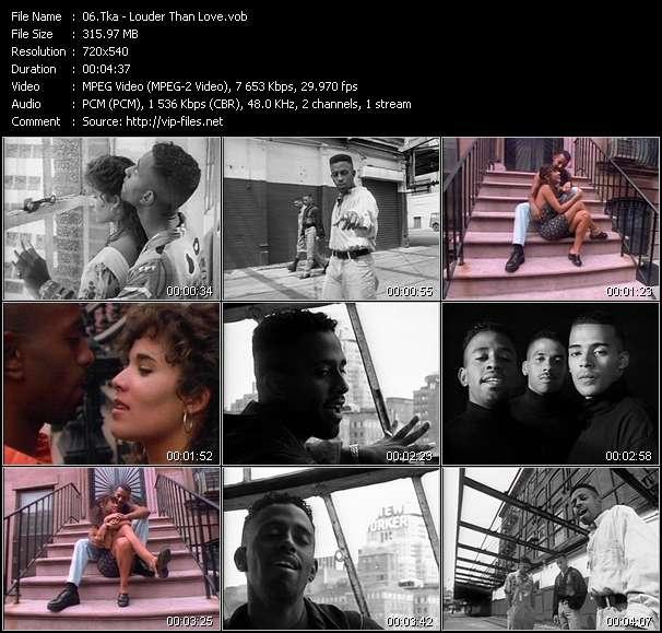 Tka video - Louder Than Love