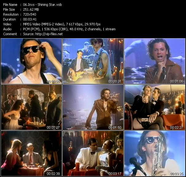 Inxs video - Shining Star