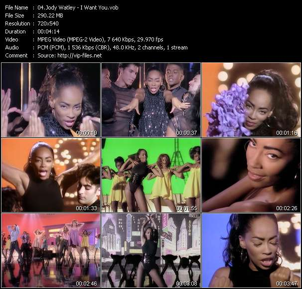 Jody Watley video - I Want You
