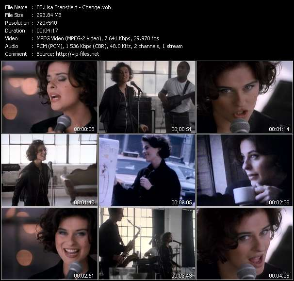 Lisa Stansfield video - Change
