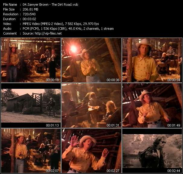 Sawyer Brown HQ Videoclip «The Dirt Road»