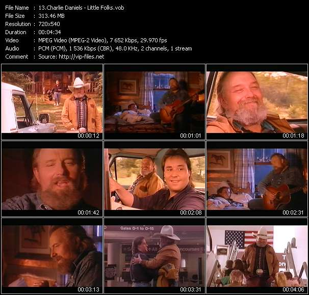 Charlie Daniels HQ Videoclip «Little Folks»