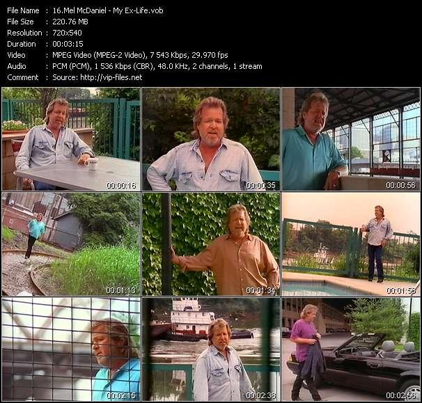 Mel McDaniel HQ Videoclip «My Ex-Life»