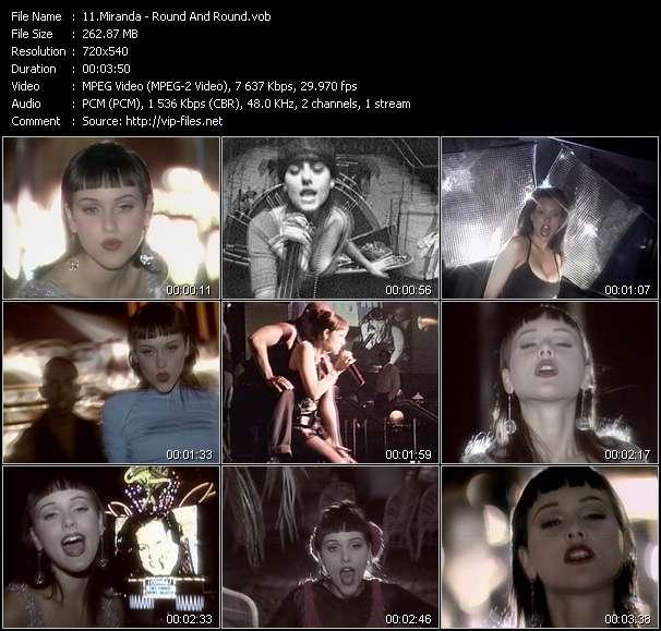 Miranda HQ Videoclip «Round And Round»