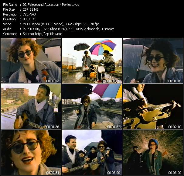 Fairground Attraction music video Publish2
