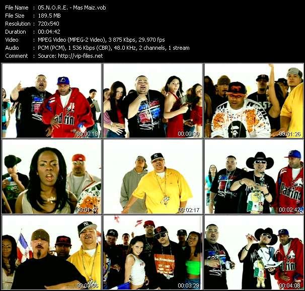 N.O.R.E. Feat. Fat Joe, Big Mato, Nina Sky, Chingo Bling, Lil' Rob, Negra And Lumidee video - Mas Maiz
