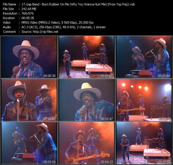Gap Band HQ Videoclip «Burn Rubber On Me (Why You Wanna Hurt Me) (From Top Pop)»