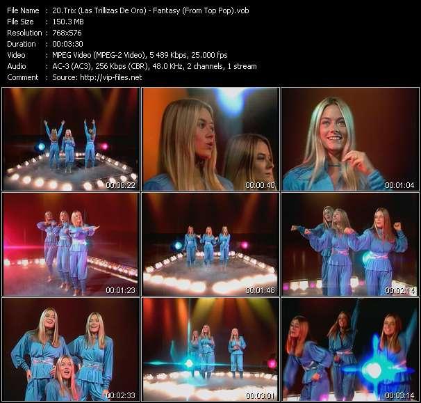 Trix (Las Trillizas De Oro) HQ Videoclip «Fantasy (From Top Pop)»