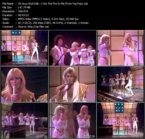 Guys And Dolls HQ Videoclip «I Got The Fire In Me (From Top Pop)»