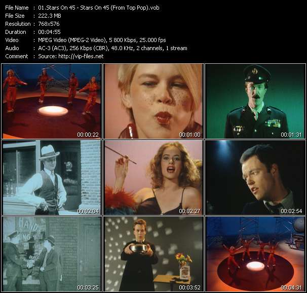 Stars On 45 HQ Videoclip «Stars On 45 (From Top Pop)»