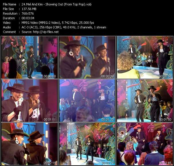 Mel And Kim HQ Videoclip «Showing Out (From Top Pop)»