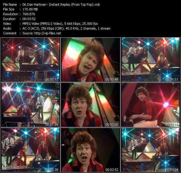 Dan Hartman video - Instant Replay (From Top Pop)
