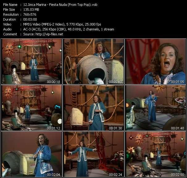 Imca Marina HQ Videoclip «Fiesta Nuda (From Top Pop)»