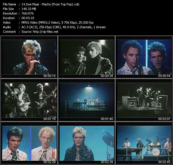 Doe Maar HQ Videoclip «Macho (From Top Pop)»
