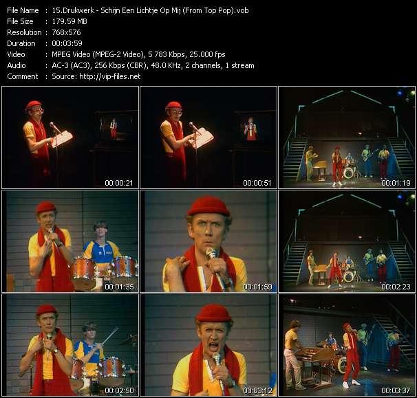 Drukwerk HQ Videoclip «Schijn Een Lichtje Op Mij (From Top Pop)»