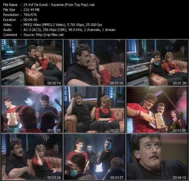 Vof De Kunst video - Suzanne (From Top Pop)