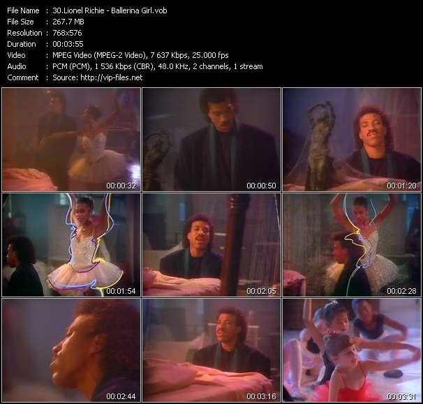 Lionel Richie HQ Videoclip «Ballerina Girl»