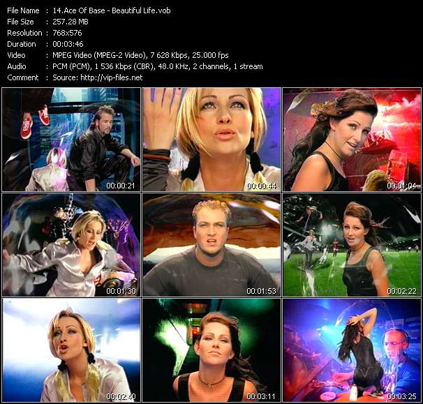 Ace Of Base video - Beautiful Life