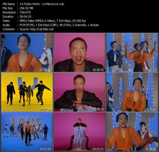 Funky Worm HQ Videoclip «U+Me=Love»