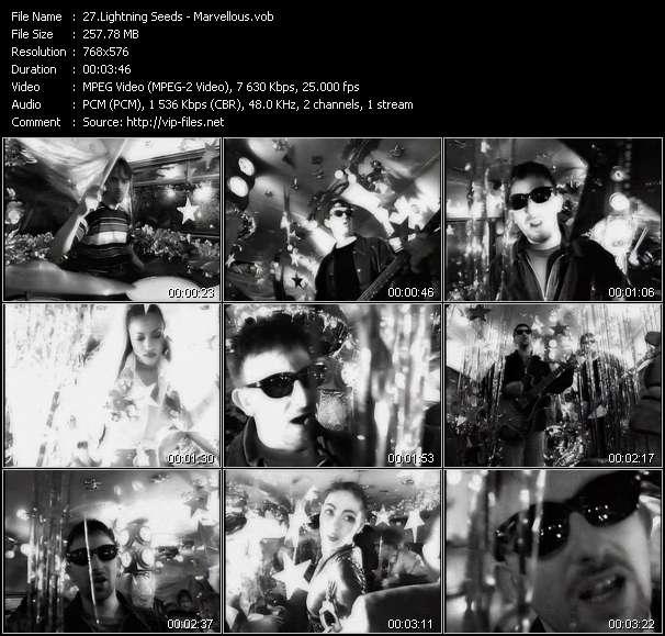 Lightning Seeds HQ Videoclip «Marvellous»