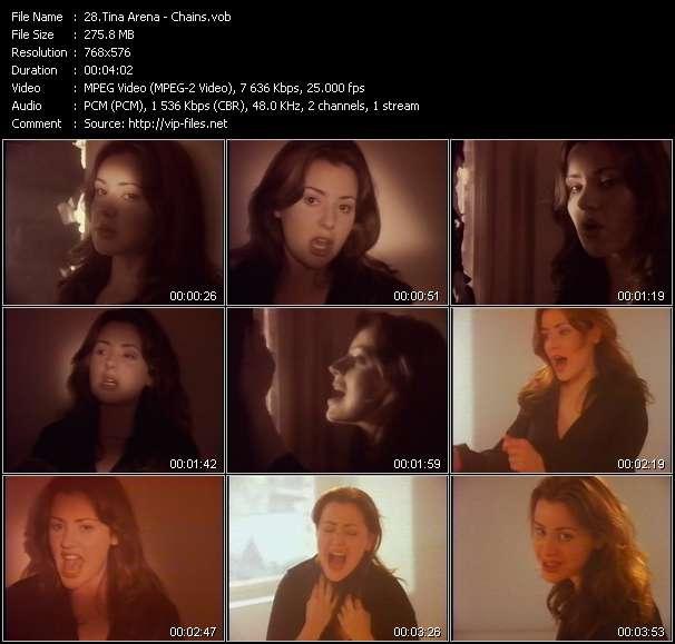 Tina Arena HQ Videoclip «Chains»