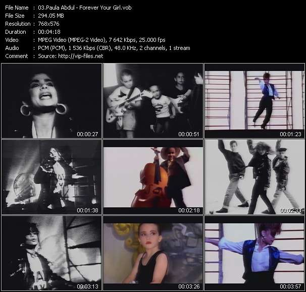 Paula Abdul HQ Videoclip «Forever Your Girl»