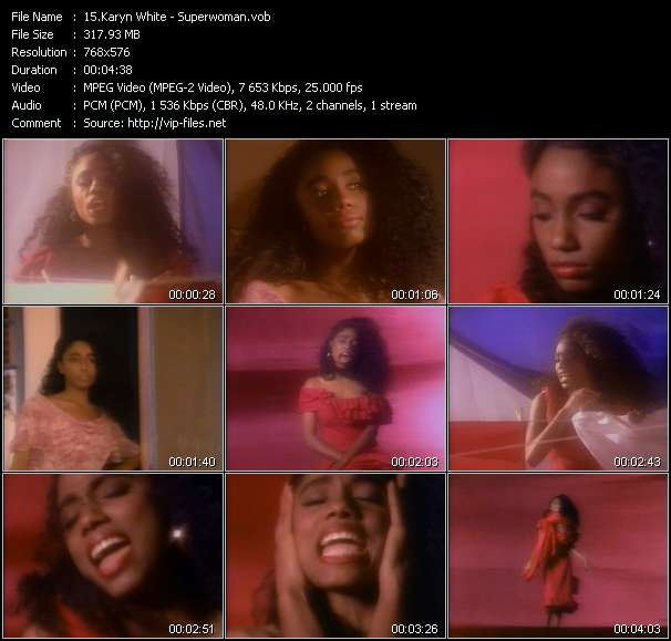 Karyn White video - Superwoman