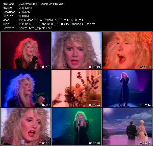 Stevie Nicks music video Filejoker